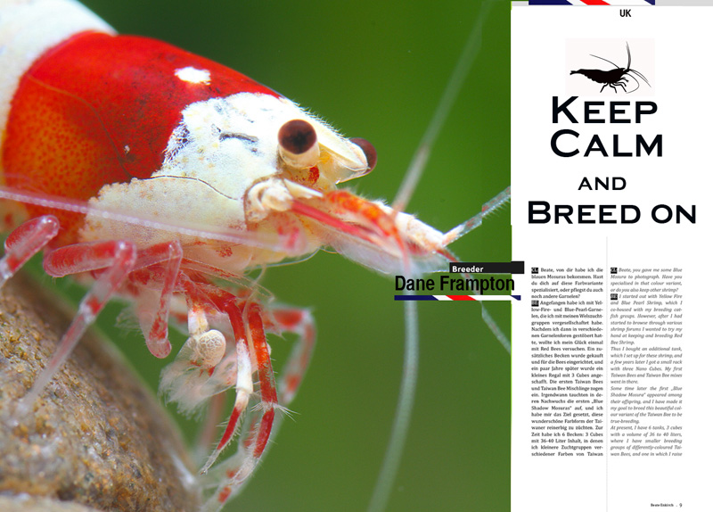 My Appearance In Breeders & Keepers Magazine